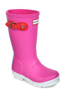 HUNTER Contrast wellington boots 3-8 years