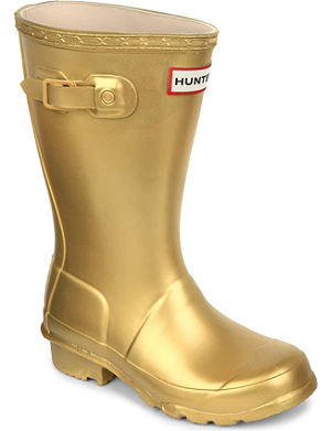 HUNTER Hunter girls wellies 7-12 years