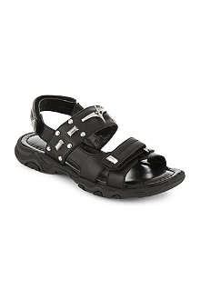 CESARE PACIOTTI Leather sandals 7-12 years
