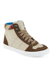 BURBERRY Hi-top trainers 6-11 years