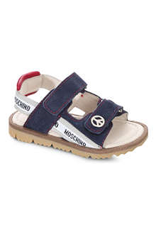 MOSCHINO Suede sandals 2-4 years