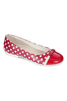 MOSCHINO Polka dot branded pumps 7-10 years