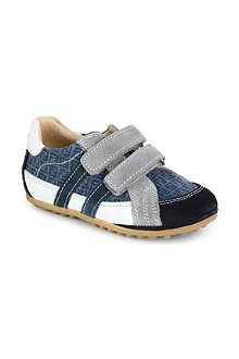 FENDI Suede and leather trainers 2- 4 years