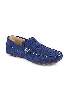 FENDI Branded suede loafers 8-11 years