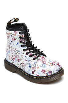 DR MARTENS Floral print lace-up boots 3-8 years