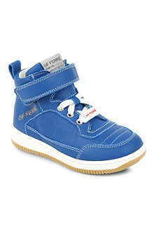 GF FERRE High-top leather trainers 3-11 years
