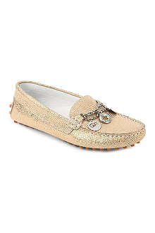 GF FERRE Metallic mocassino 7-11 years
