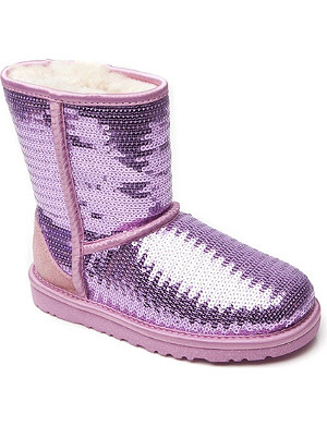UGG Sequinned boots 6 months-12 years
