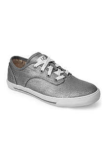 UGG Anaya metallic trainers 7-11 years