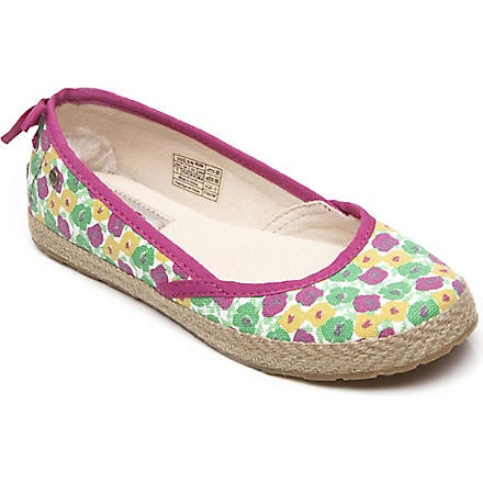 UGG Tassy floral shoes 7-11 years (Pink