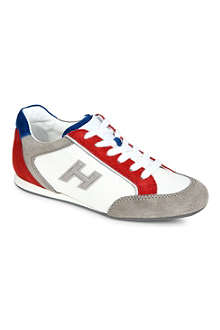 HOGAN Boys suede trainers 6-9 years