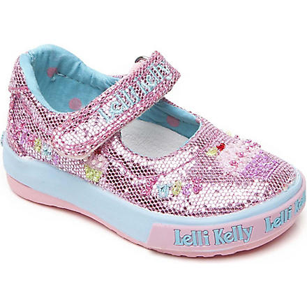 LELLI KELLY Glitter pumps 6months-4 years (Pink