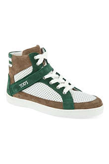TODS Hi-top trainers 7-9 years