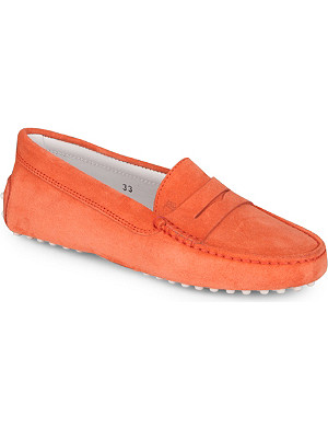 TODS Unisex leather loafers 7-9 years