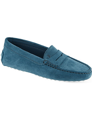 TODS Suede loafers 7-9 years