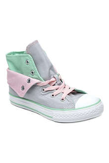 CONVERSE Chuck Taylor All Star two-fold high-tops 6-11 years