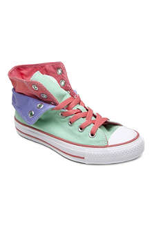 CONVERSE Chuck Taylor All Star two-fold high-tops 10-12 years