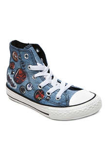 CONVERSE Chuck Taylor All Star denim high-tops 6-9 years