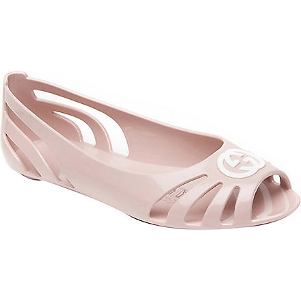 GUCCI Jelly shoes 6 months-12 years (Pink