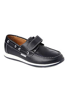 STEP2WO Sawyer leather boat shoes 7-12 years