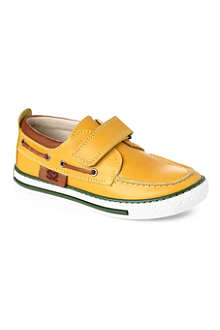 STEP2WO Sandy leather boat shoes 4 months - 5 years
