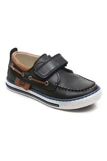 STEP2WO Sandy leather boat shoes 6-11 years