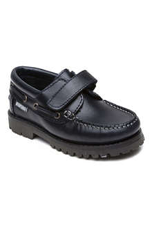 STEP2WO Jackson leather deck shoes 4-12 years