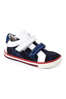 STEP2WO Thomas suede and leather trainers 1-4 years