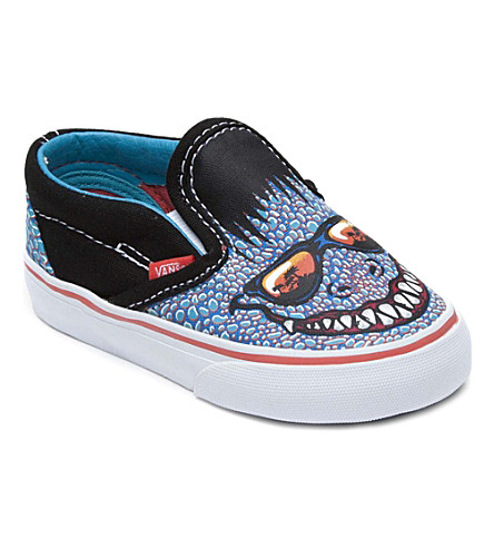 VANS Slip-on canvas goblin trainers 4-8 years (Multi