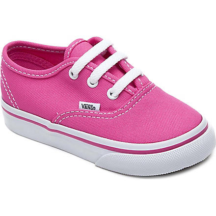 VANS Lace-up trainers 2-5 years (Pink
