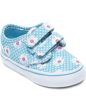 VANS Daisy-print canvas trainers 2-4 years