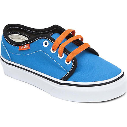 VANS Lace-up canvas trainers 5-8 years (Blue