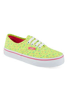 VANS Floral print trainers 2-9 years
