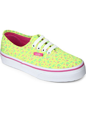 VANS Authentic lace-up shoes 6-9 years