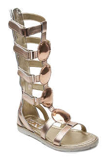 STEP2WO Nefertiti leather sandals 6-11 years