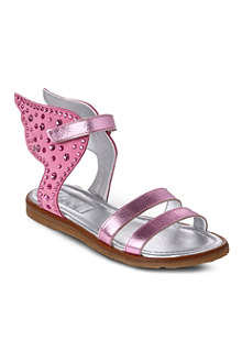STEP2WO Angel embellished-wing sandals 3-9 years