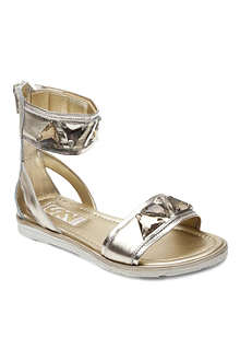 STEP2WO Ramesis embellished cuff sandals 7-11 years