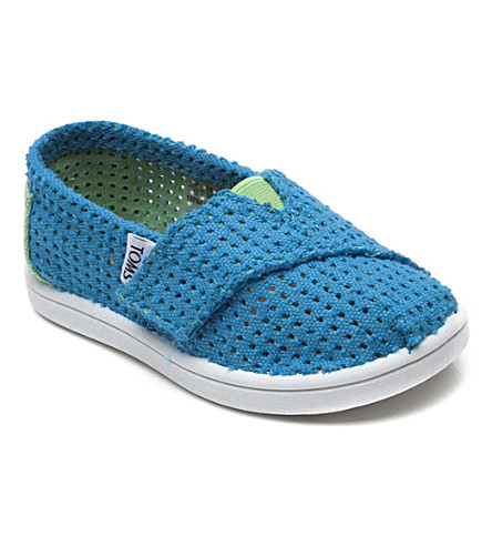 TOMS Freetown canvas shoes 2-11 years (Blue