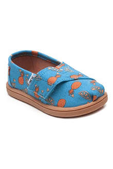 TOMS Pineapple print shoes 2-11 years