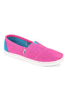 TOMS Slip-on two-tone canvas shoes