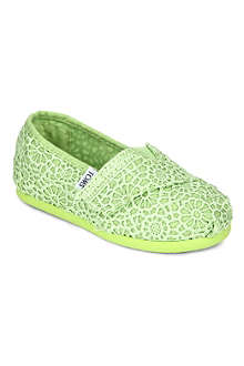 TOMS Freetown canvas shoes 2-11 years