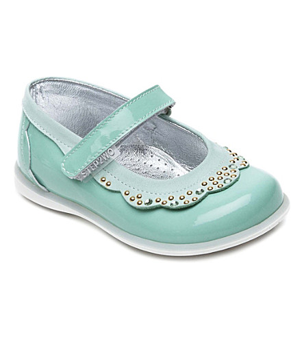 STEP2WO Dollar patent leather shoes 8 months-4 years (Turquoipat