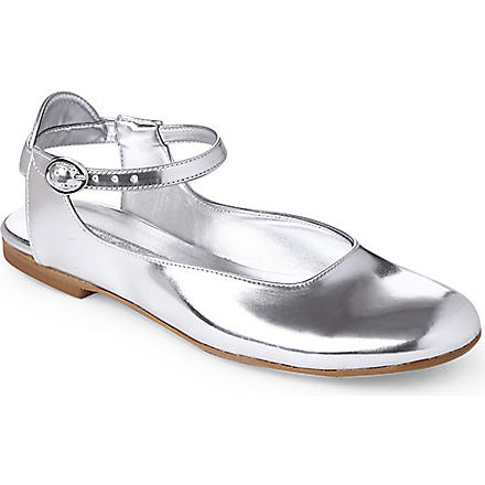 STEP2WO Sabah patent leather shoes 7-11 years (Silver