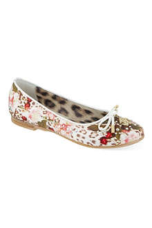 ROBERTO CAVALLI Embellished ballerina pumps 7-11 years