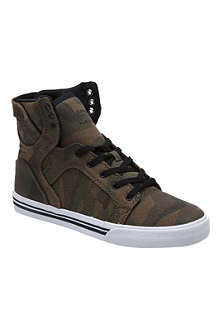 SUPRA High-top camouflage trainers 7-12 years
