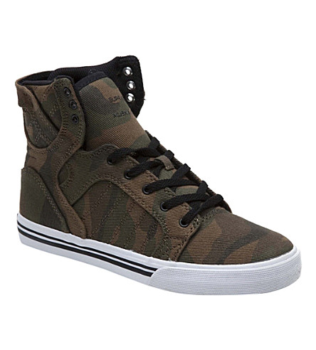 SUPRA High-top camouflage trainers 7-12 years (Camouflage