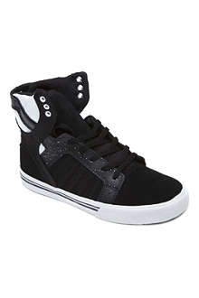 SUPRA Monochrome high tops 7-11 years