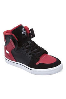 SUPRA Vaider high-top trainers 7-12 years