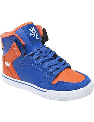 SUPRA Vaider high-top trainer 7-12 years