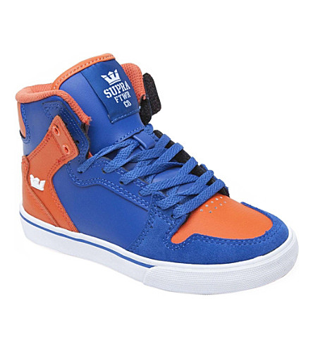 SUPRA Vaider high-top trainer 7-12 years (Blue